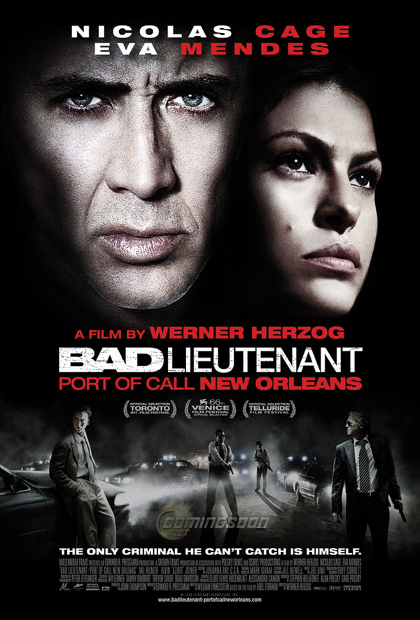 Bad Lieutenant Port of Call New Orleans movie poster