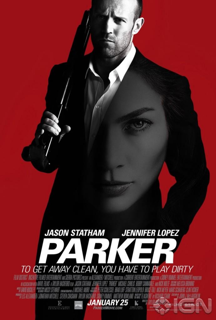 Parker Teaser Poster