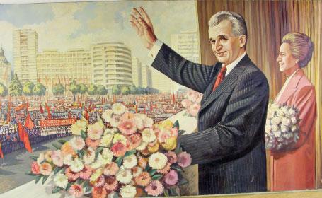 pictura ceaușescu