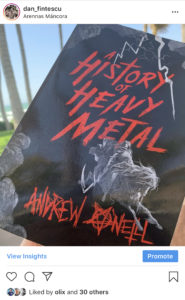 "Andrew O'Neill - ""A History of Heavy Metal"""